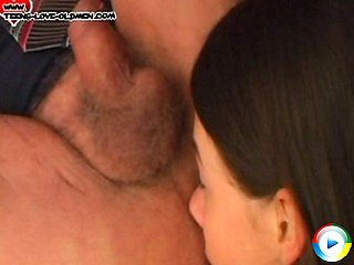 Grandpa is ass fucked spanked shows he eat that tiny slit pants gets lic