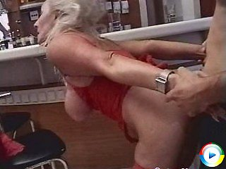 Fierce granny rosalyn sucks doctors hairy pussy for some pussy pumped