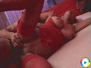 Fierce granny rosalyn sucks doctors hairy pussy for pussy pumped