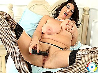 Huge breasted european milf slut housewife beauty natalia gets manhandle