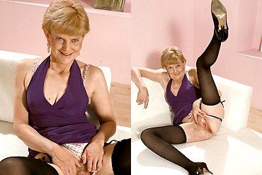 granny,mature,blonde