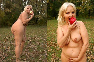 sexy,granny,blonde