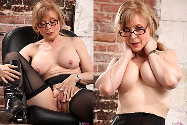 mature,older,stockings
