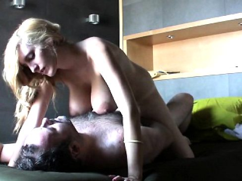 Busty beauty having sex with a lucky man