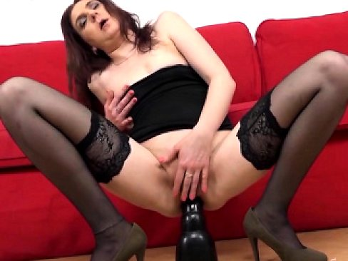 Smut Puppet - Mature on Anal Toy Comp 1