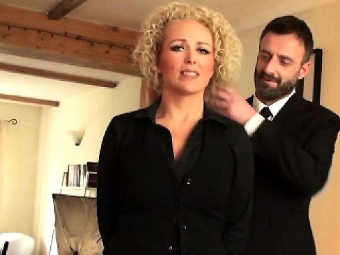 Busty babe Rebecca Smyth fucked like a true submissive slut