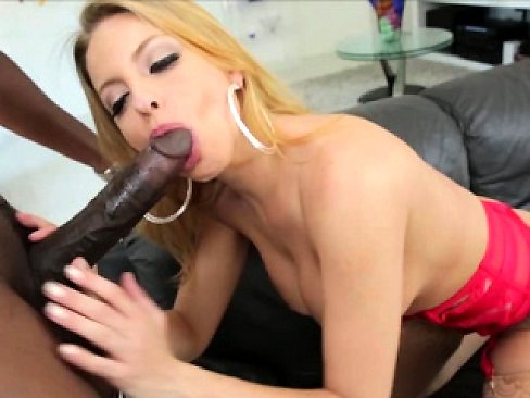 Busty babe Brittney Amber groans in hard interracial sex